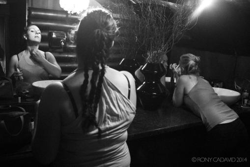 The Supernova Bombshells at She Bar - Backstage